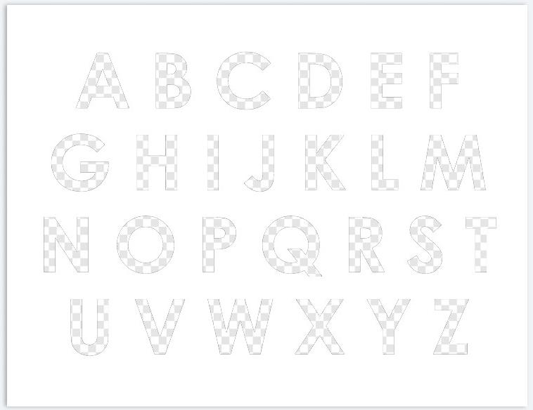 Alphabet Print Video 14