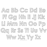 _0004_Alphabet Printable Upper and Lower Case